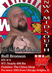 NWA MID SOUTH BULL BRONSON
