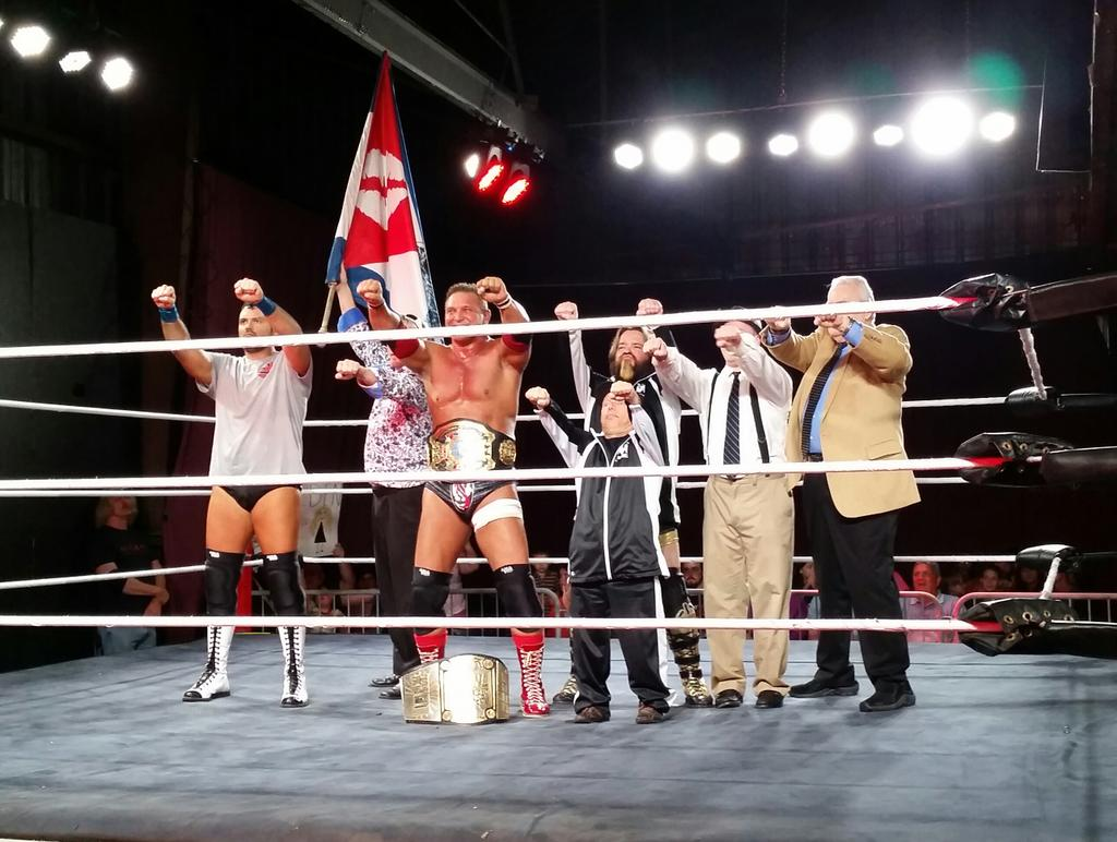 With help from the legendary manager JJ Dillon, The Empire struck gold in Dyersburg, TN!