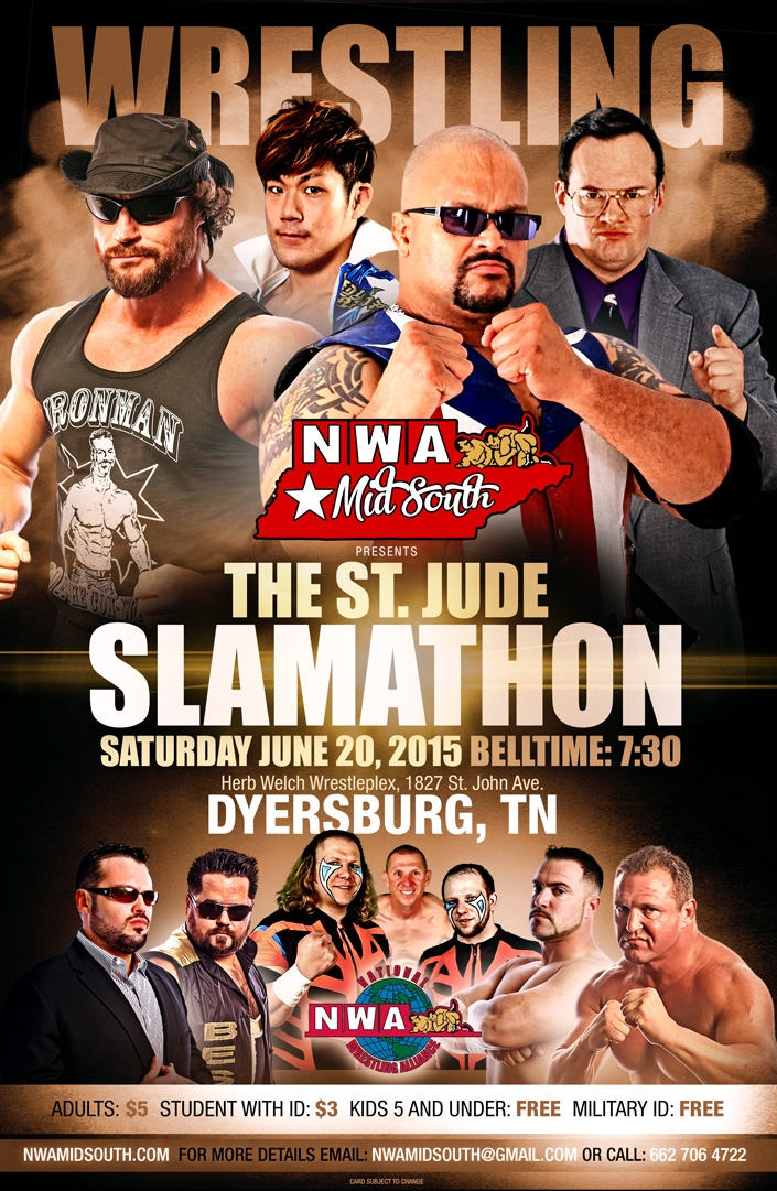 The St. Jude SLAMATHON is the CAN'T MISS event of 2015!