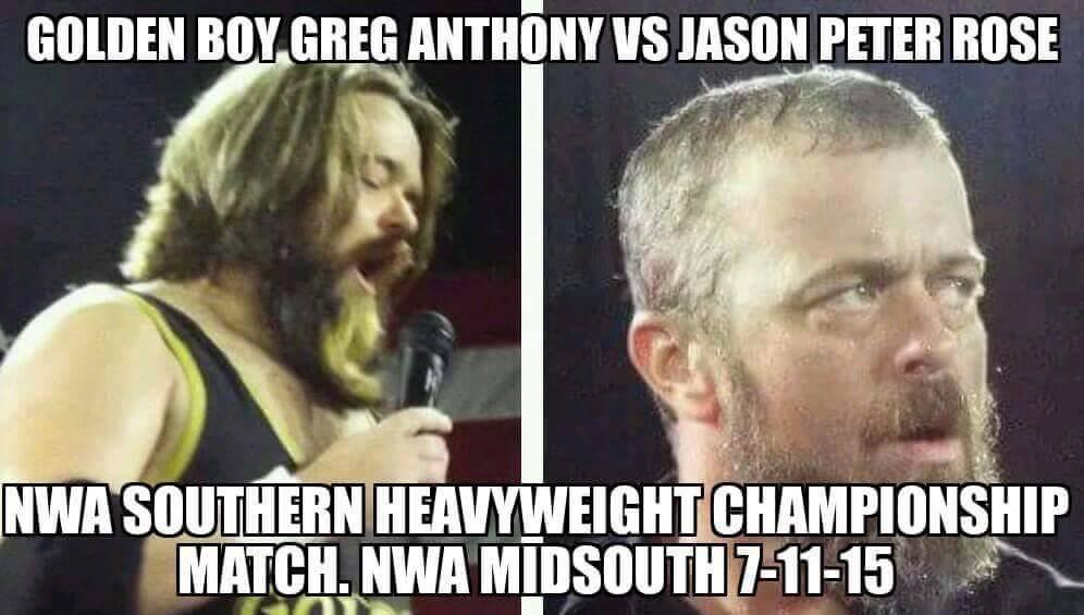 Golden Boy vs Jason Peter Rose-Wrestling-Only $5