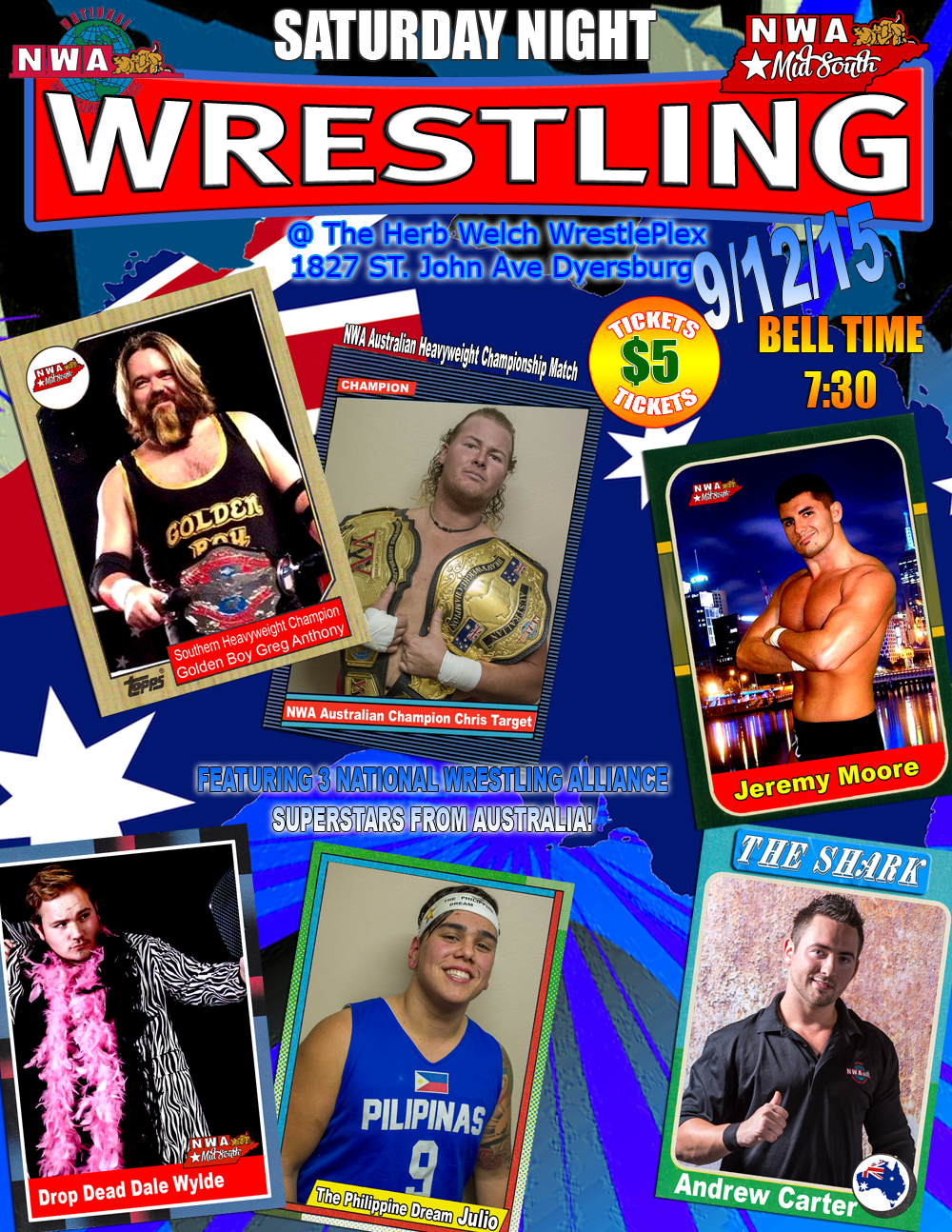 NWA Mid South has very special guests this Saturday!