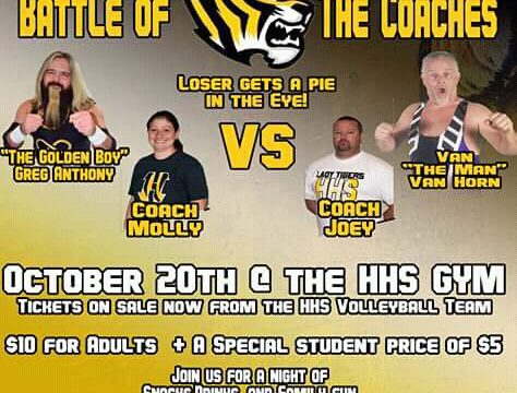 Pro Wrestling Mid South Presents Tiger Madness, October 20, 2018, Halls High School Gym