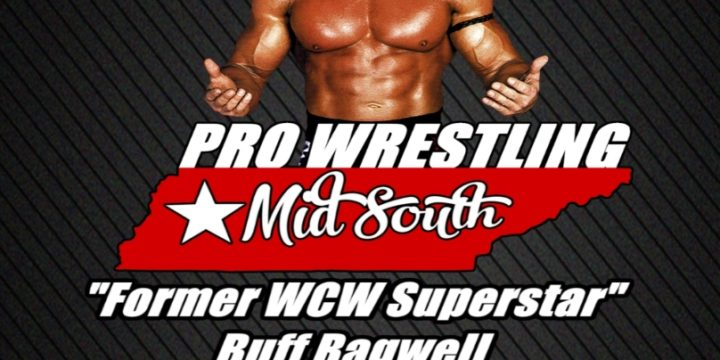 "Buff ""The Stuff"" Bagwell makes his way to Pro Wrestling Mid South"