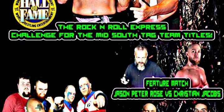 Pro Wrestling Mid South Presents Rock N Roll Will Never Die